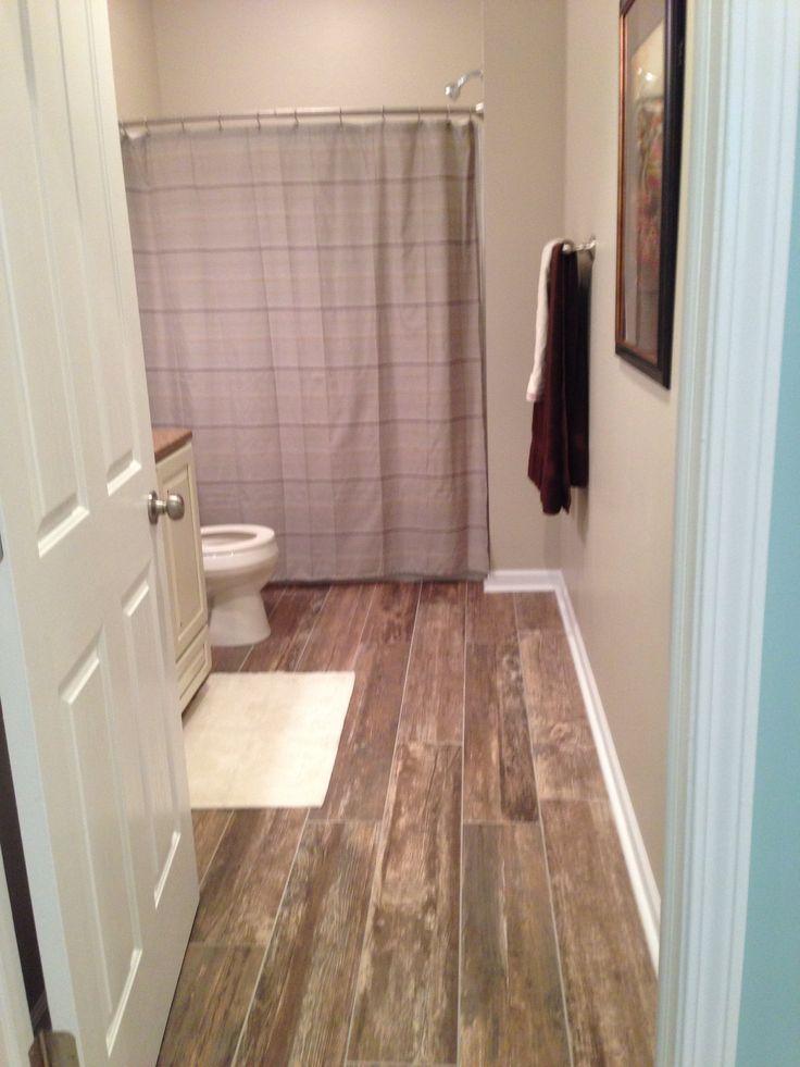 Full Bath With Vanity Granite Top Tile Backsplash