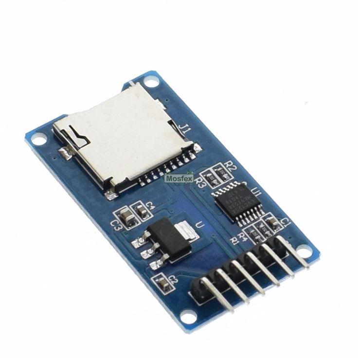 โมดูลบันทึกข้อมูล Micro SD Card Module Data Logger Module