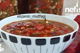 Kışlık Ezme Yapımı – Nefis Yemek Tarifleri