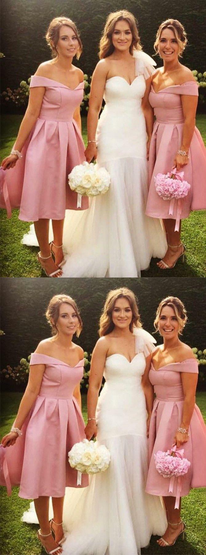 Below the Knee Bridesmaid Dress