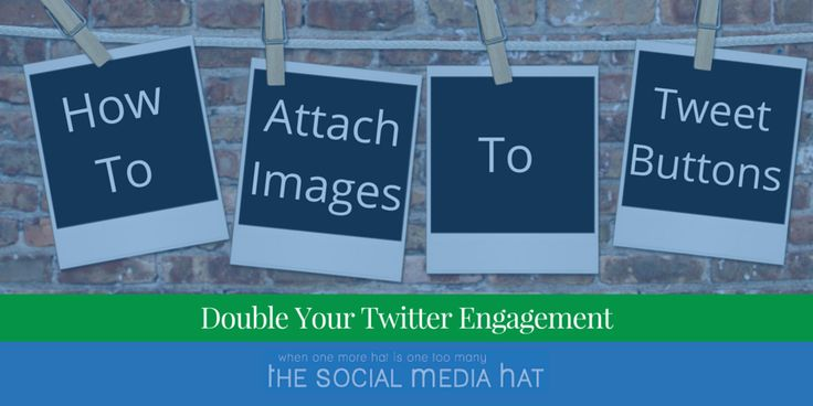 Learn how to automatically attach an image when other people tweet out links to your content.