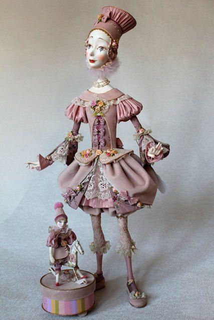 Annadan Boudoir Dolls/Haute Couture. Тутти