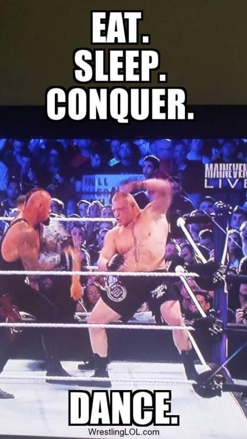 WrestlingLOL - New Brock Lesnar Slogan