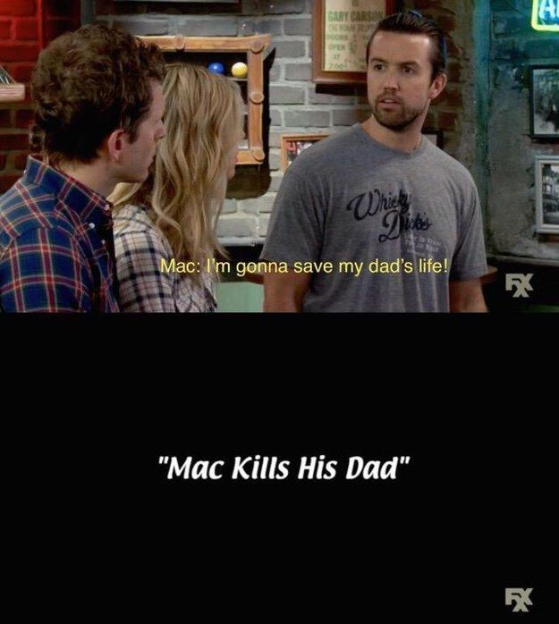 "When this amazing intro happened. | 19 Times ""It's Always Sunny In Philadelphia"" Was Beyond Hilarious"