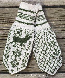 Орнамент детям - варежки и перчатки. Обсуждение на LiveInternet - Российский Сервис Онлайн-Дневников