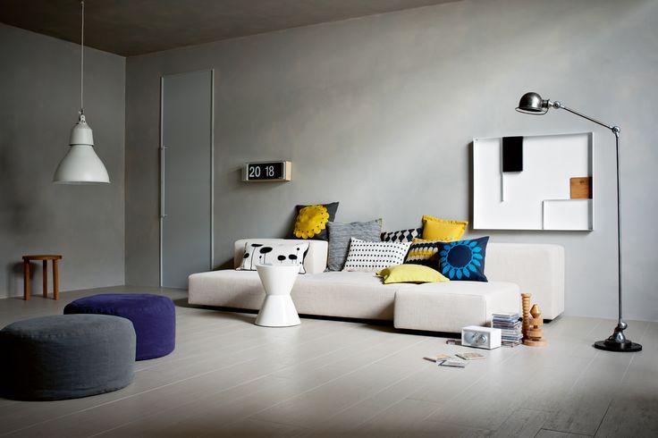 #Treverksign | wood-effect floor covering | porcelain stoneware | #Marazzi