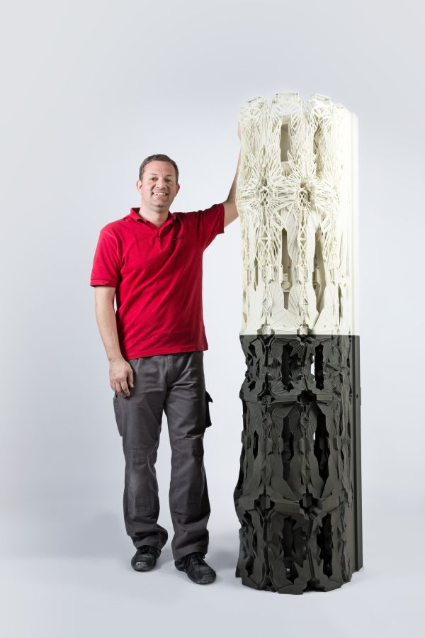 3ders.org - 3D printed Column as a symbol for new architectural possibilities | 3D Printer News & 3D Printing News
