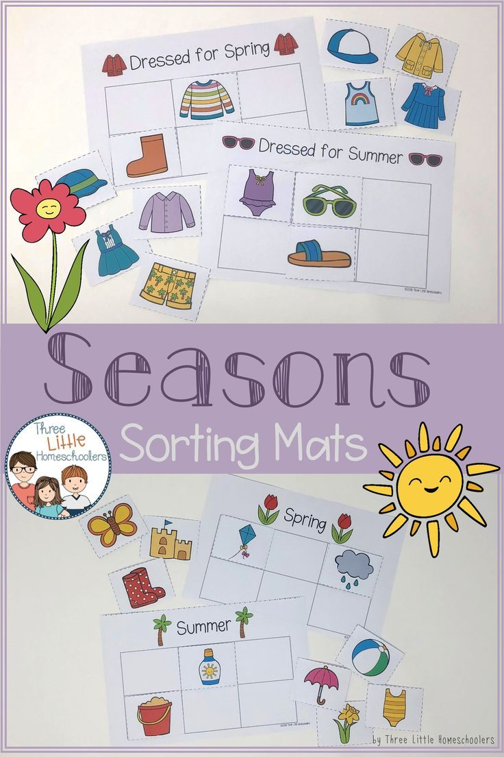 9540ebf0ad7 Seasons sorting mats and worksheets all subjects and grades tpt jpg  736x1104 Summer winter clothes sort
