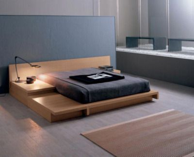Really cool floor bed idea. No pillows though and weird sheets. Obviously I'd make it a bit more functional rather than stylized.