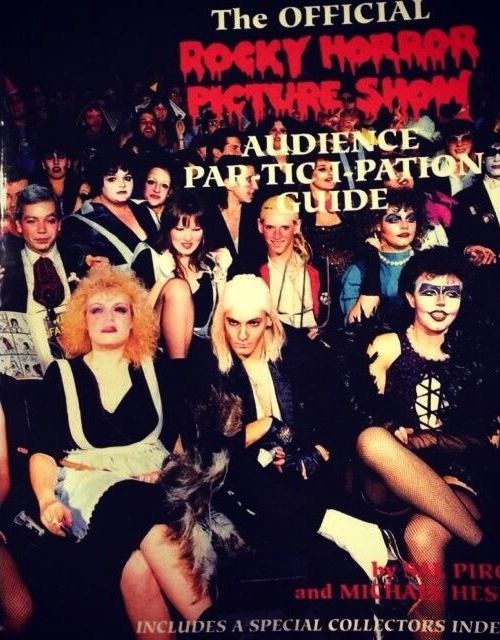 The Official Rocky Horror Picture Show Audience Participation Guide by Sal Piro and Michael Hess.