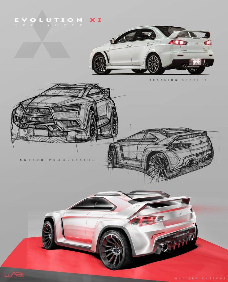 Mitsubishi Evo XI Crossover Concept