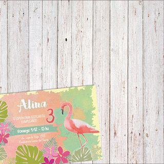 Kit imprimible de flamencos. Descargá, imprimí y creá una fiesta bien tropical.