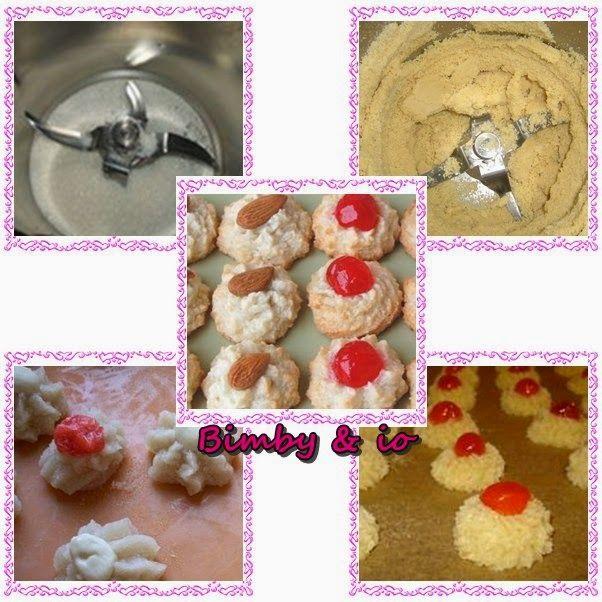 Le ricette di Valentina & Bimby: PASTICCINI ALLE MANDORLE