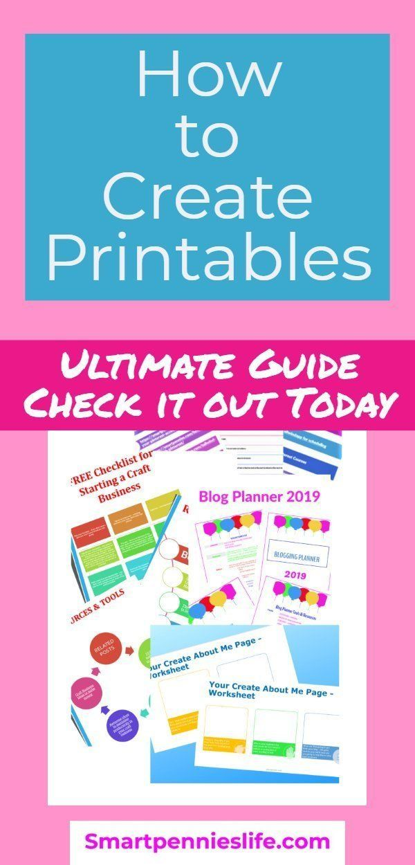 How to create Printables to Sell or use as your Optin