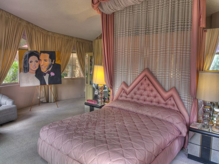 Elvis And Priscilla Presleyu0027s Honeymoon Hideaway For Sale