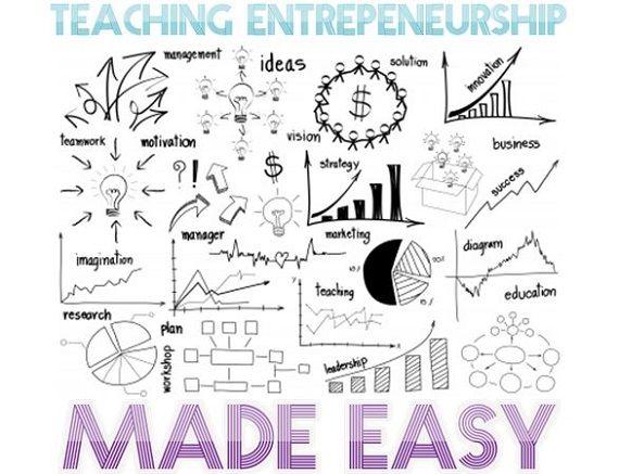 Teaching Entrepreneurship Made Easy.  Effective Entrepreneurship lesson plans for teachers.
