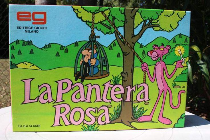 La Pantera Rosa gioco da tavolo