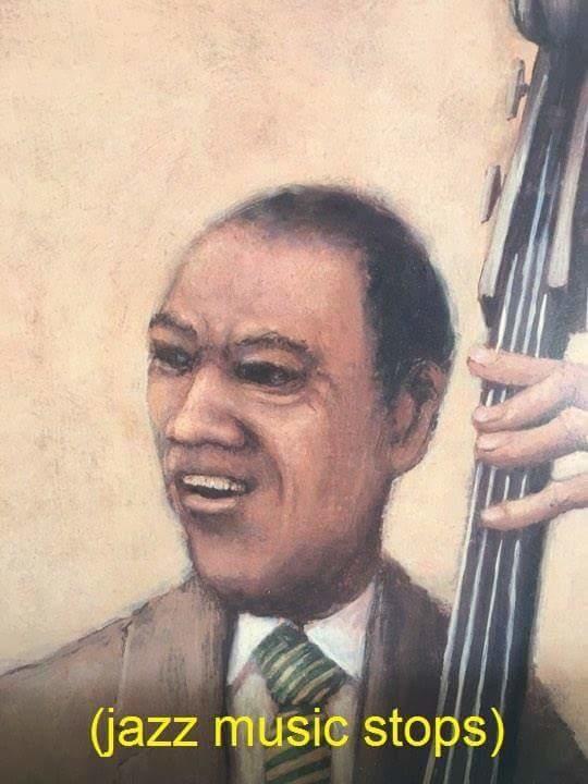 Jazz Music Stops original image that spawned the meme