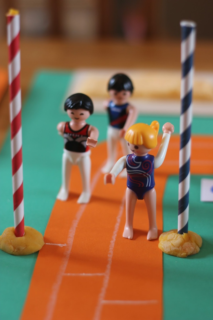 The Imagination Tree: Olympic Sports Small World Play