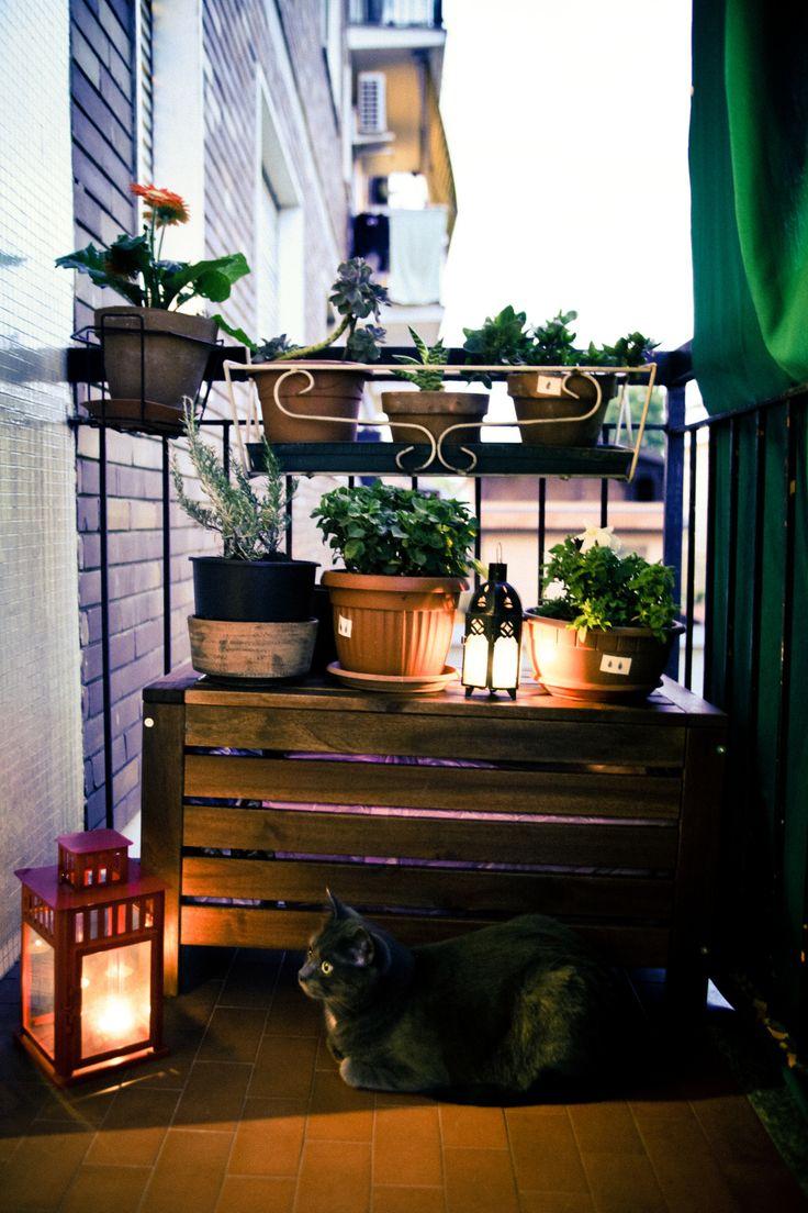 https://flic.kr/p/xbr3Bu | Urban dehore #smallbalcony #inspiration