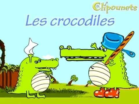 Les crocodiles - karaoke - Clipounets - YouTube