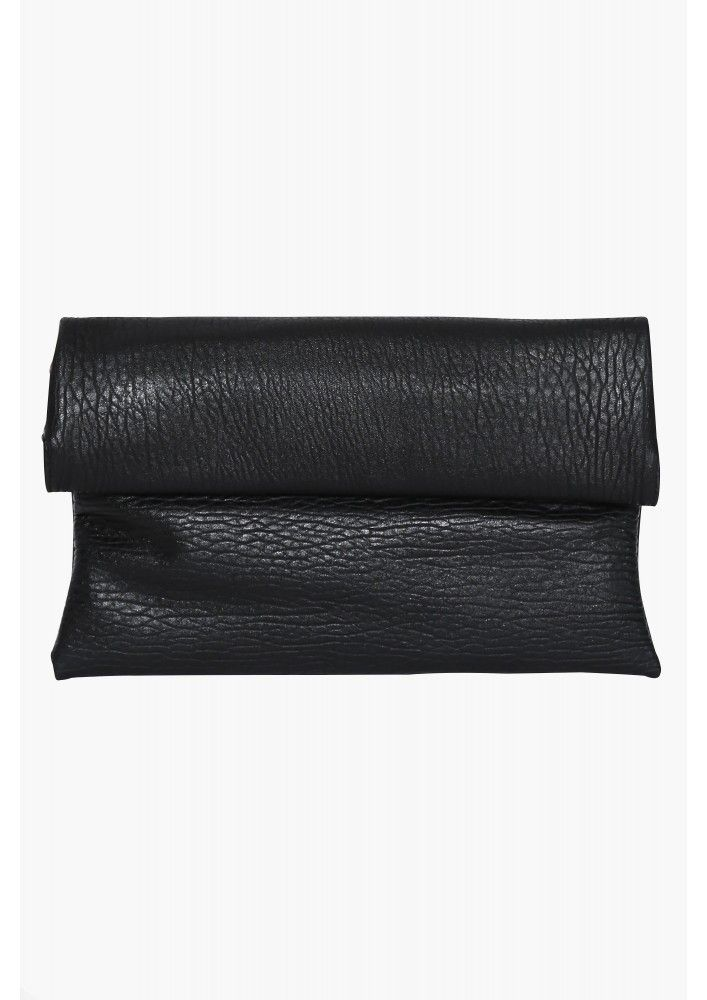 Serena Clutch in Black | Necessary Clothing