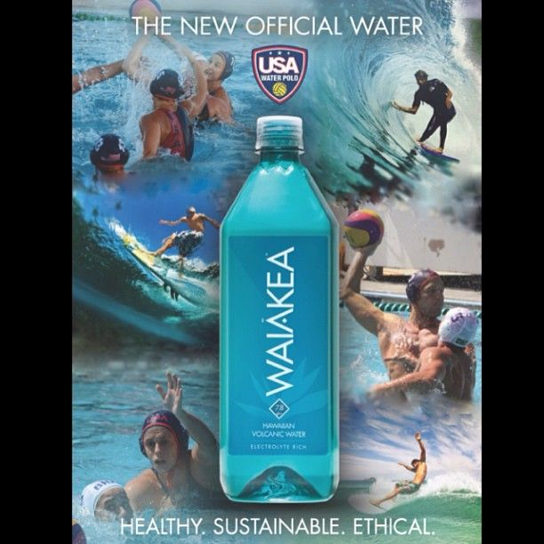 Waiākea is proud to be the new official water of USA Water Polo!! Congrats to all the teams who played hard last weekend in JO's!! #USAWP #USAWPjuniorOlympics #Waiakea #DrinkHealthy www.waiakeasprings.com