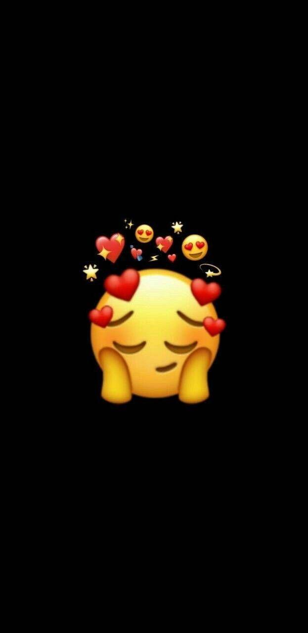 Love Emoji Iphone Wallpaper Emoji Wallpaper Iphone Wallpaper Iphone Cute Cute Backgrounds For Iphone