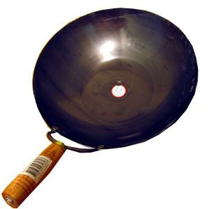 A carbon-steel wok should be part of every serious Asian kitchen and the wooden handle makes it easy to work with no matter how hot. $21.99