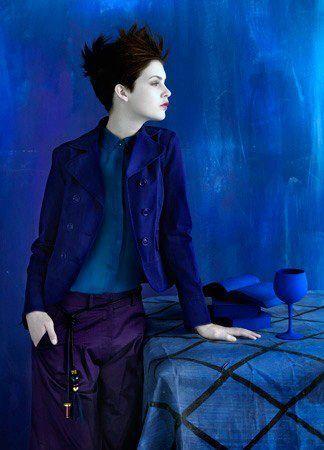 Klein blue.