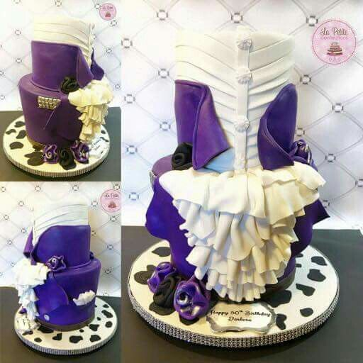 Purple Rain Cake Ideas