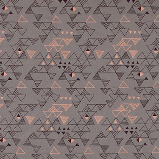 bomull støvet lilla m trekanter