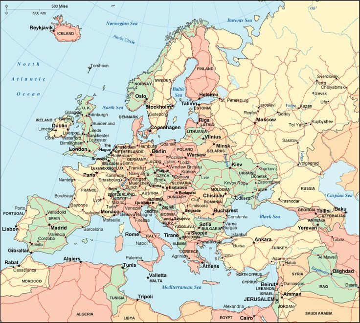 Map Of European Cities World Map - World map with cities