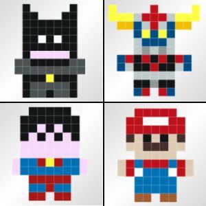 Les stickers pixels ou la déco geek par excellence ! #stickaz