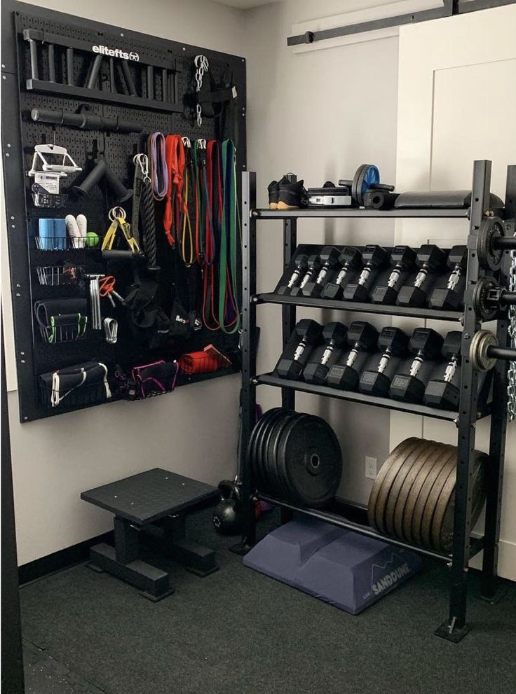 wall control pegboard for storage in 2020 gym room at on wall control id=37216