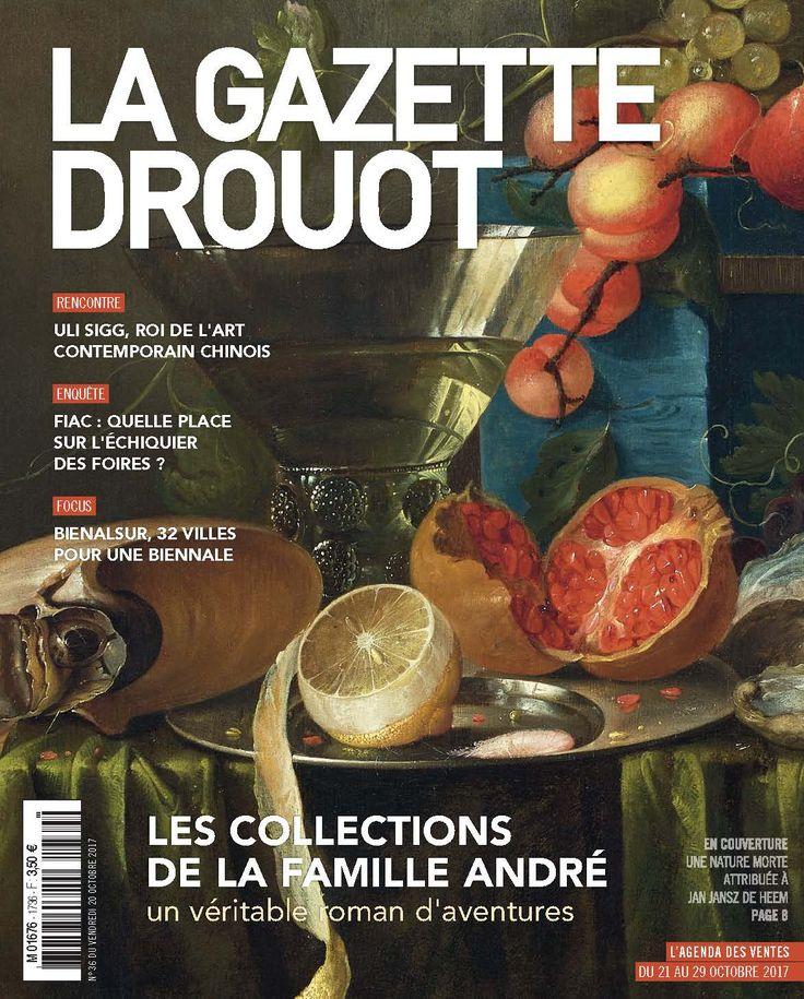 Gazette Drouot n° 36 du 20 octobre 2017. #NatureMorte #JanJanszDeHeem #ArtMarket #WebZine