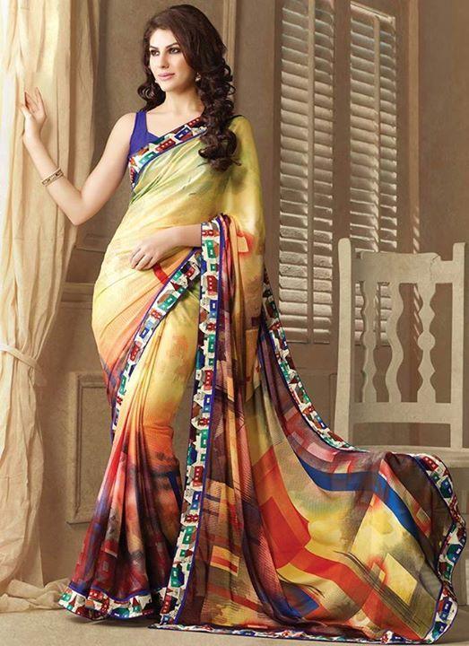 Colorful-Indian-Saree-Fashion-Designs-