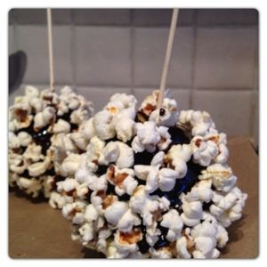 Popcorn Toffee Apple Recipe