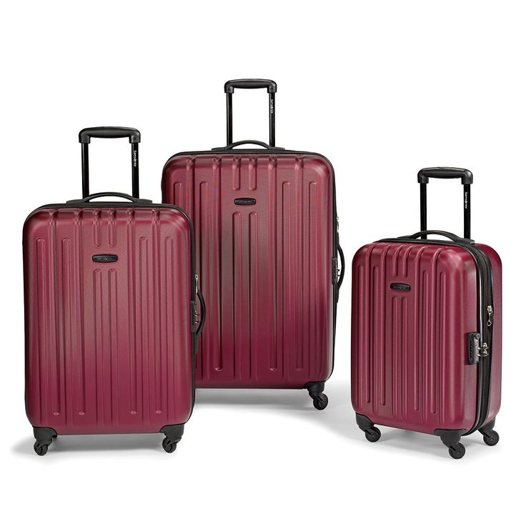 See The World In Style With #Samsonite #luggage. #wedding
