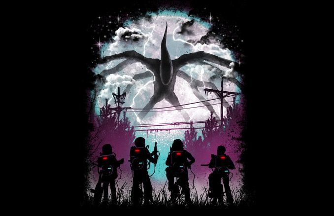 Stranger Things There's Something Strange T-Shirt