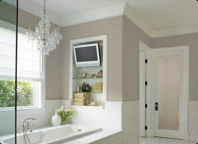 Fine Grain By Dunn Edwards Perfect Calm Color For The Bath