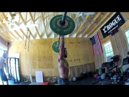 Metcon with Rich Froning -Thrusters and DU