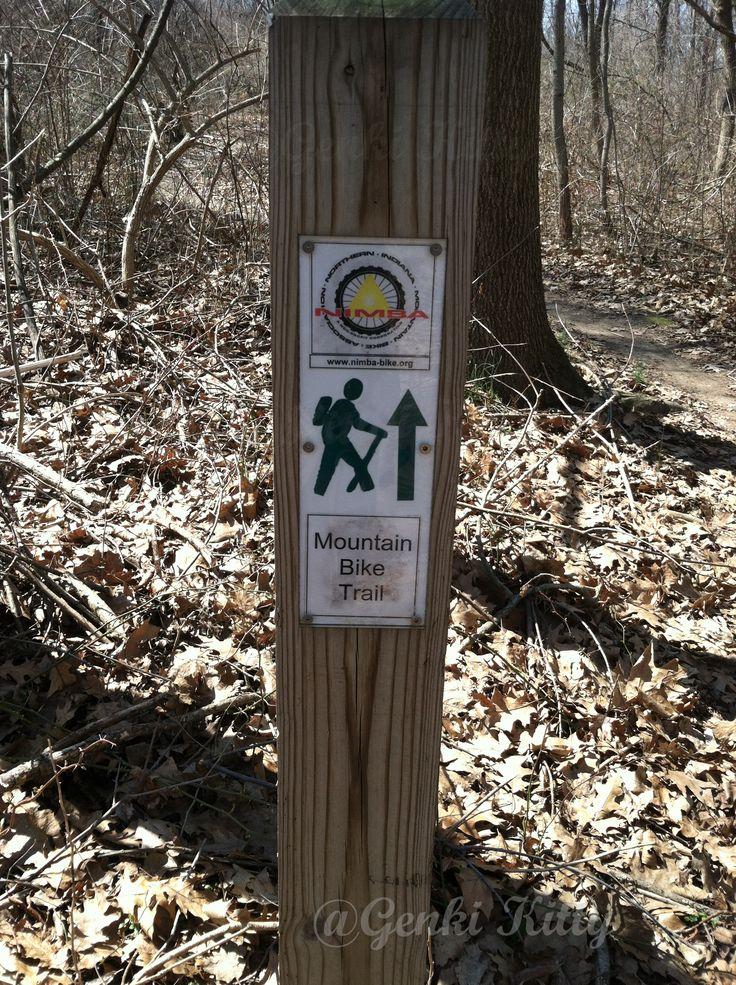 potato creek state park trail markers