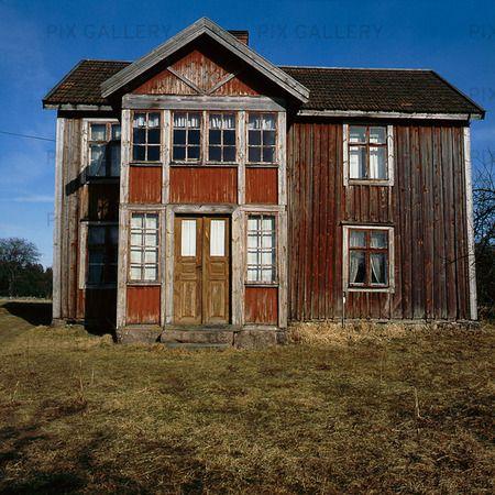 Abandoned house, Sweden