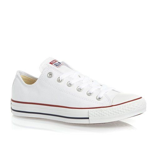 Converse All Star Ox Shoes - White: Amazon.co.uk: Shoes & Bags