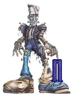 Alfabeto de Frankenstein.