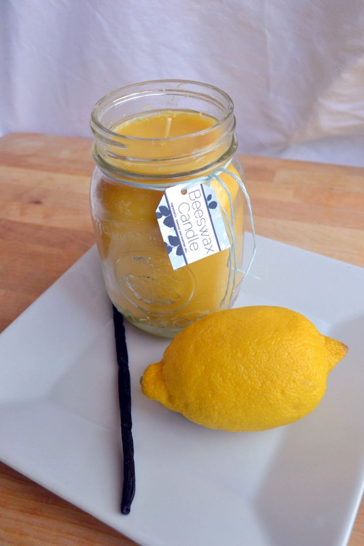 DIY beeswax candle: Burns longer, brighter, and actually cleans the air! Add essential oils for the scent of your choice... I think I'm going to go with vanilla :)