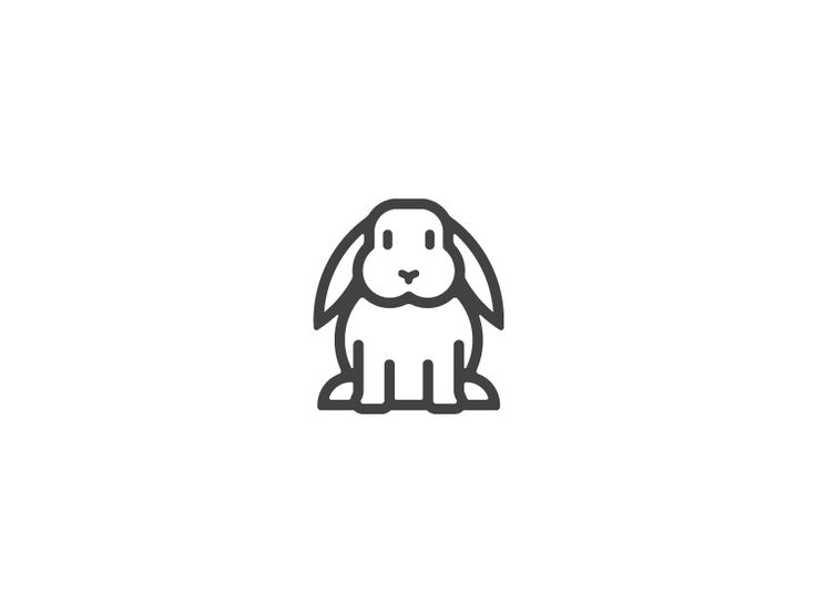 Complete bunny. by Gustavo Zambelli #Design Popular #Dribbble #shots