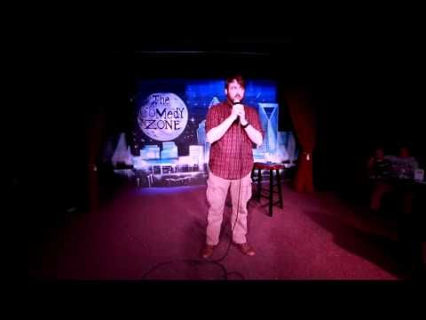 Carl Wilson on 11-25-13 on Graduation Showcase Night for The Comedy Zone Comedy School - YouTube