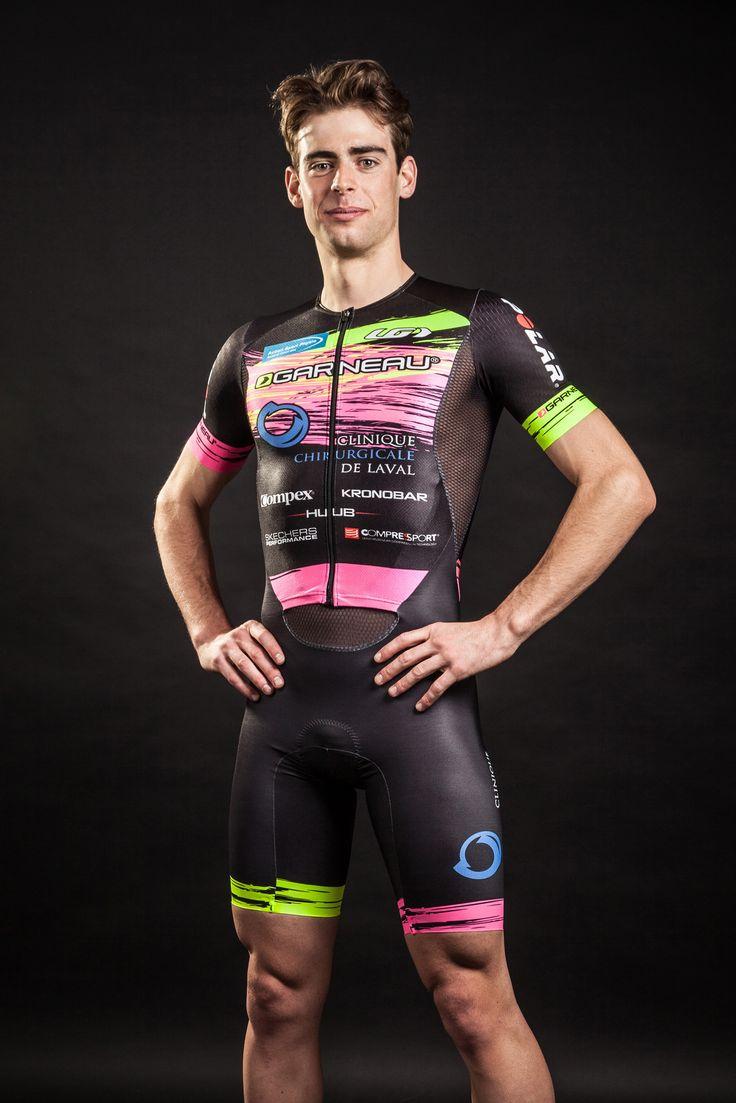 Antoine Jolicoeur Desroches custom tri suit